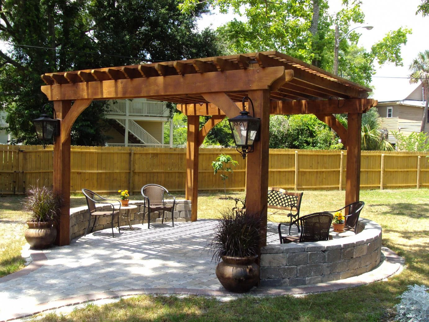 Outdoor Pergolas-Corpus Christi TX Landscape Designs & Outdoor Living Areas-We offer Landscape Design, Outdoor Patios & Pergolas, Outdoor Living Spaces, Stonescapes, Residential & Commercial Landscaping, Irrigation Installation & Repairs, Drainage Systems, Landscape Lighting, Outdoor Living Spaces, Tree Service, Lawn Service, and more.